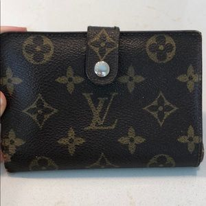"AUTHENTIC Vintage Louis Vuitton ""French"" Wallet"